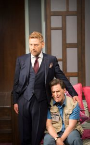 Kenneth Branagh & Rob Brydon in The Painkiller