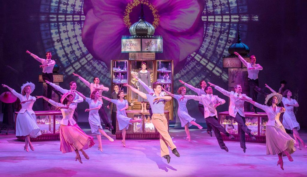 An American in Paris by George Gershwin at Dominion Theatre London reviewed by Paul Seven Lewis of one Minute Theatre Reviews