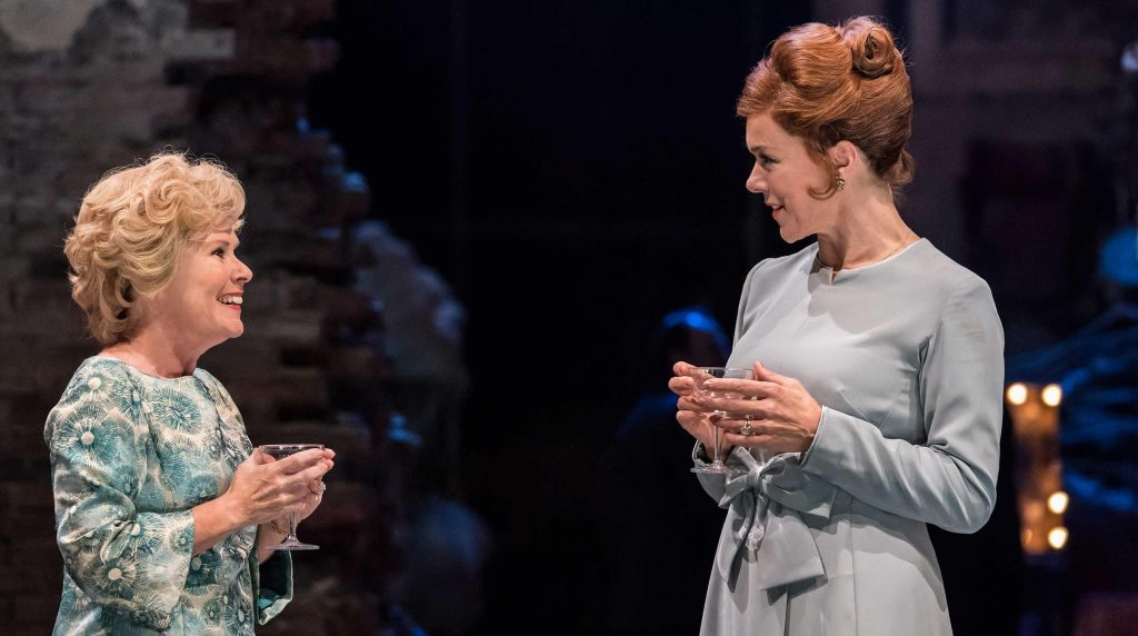 Imelda Staunton & Janie Dee in Follies reviewed by Paul Seven Lewis of One Minute Theatre Reviews