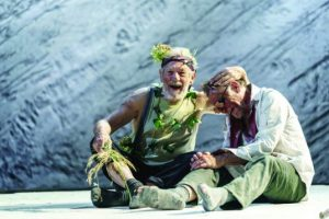 Ian McKellen and Danny Webb in King Lear at Chichester Festival Theatre