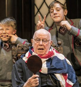 Richard Wilson in Forty Years On at CFT