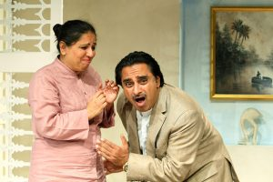 Sanjeev Bhaskar in Dinner With Saddam at Menier Chocolate Factory, reviewed by Paul Seven Lewis