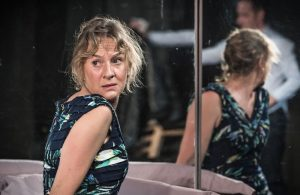 Niamh Cusack in Unfaithful at Found111. Reviewed by One Minute Theatre Reviews