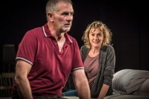 Sean Campion & Niamh Cusack in Unfaithful at Found111, reviewed by One Minute Theatre Reviews