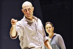 Mark Strong & Nicola Walker in A View From The Bridge at the Young Vic