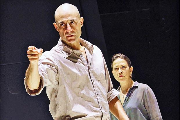 Mark Strong and Nicola Walker in A View From The Bridge at the Young Vic
