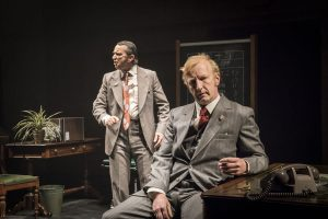 Phil Daniels & Steffan Rhodri in This House at Chichester Festival Theatre. Photo: Johan Persson
