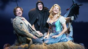 Photo of Hadley Fraser, Ross noble and Summer Strallen in Mel Brooks' Young Frankenstein