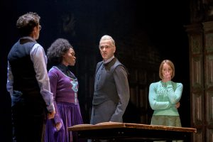 Production photo of members of the cast of Harry Potter And The Cursed Child by JK Rowling, Jack Thorne and John Tiffany