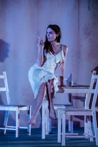 Kelly Gough in A Streetcar Named Desire at Nuffield Theatre Southampton