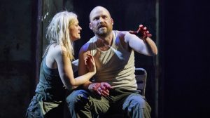 Photo of Anne-Marie Duff & Rory Kinnear in Macbeth at National Theatre