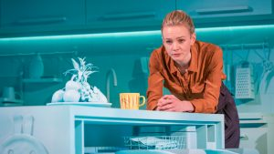 Carey Mulligan in Girls & Boys at Royal Court theatre London