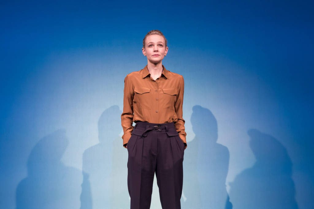 Carey Mulligan in Girls & Boys at Royal Court theatre in London