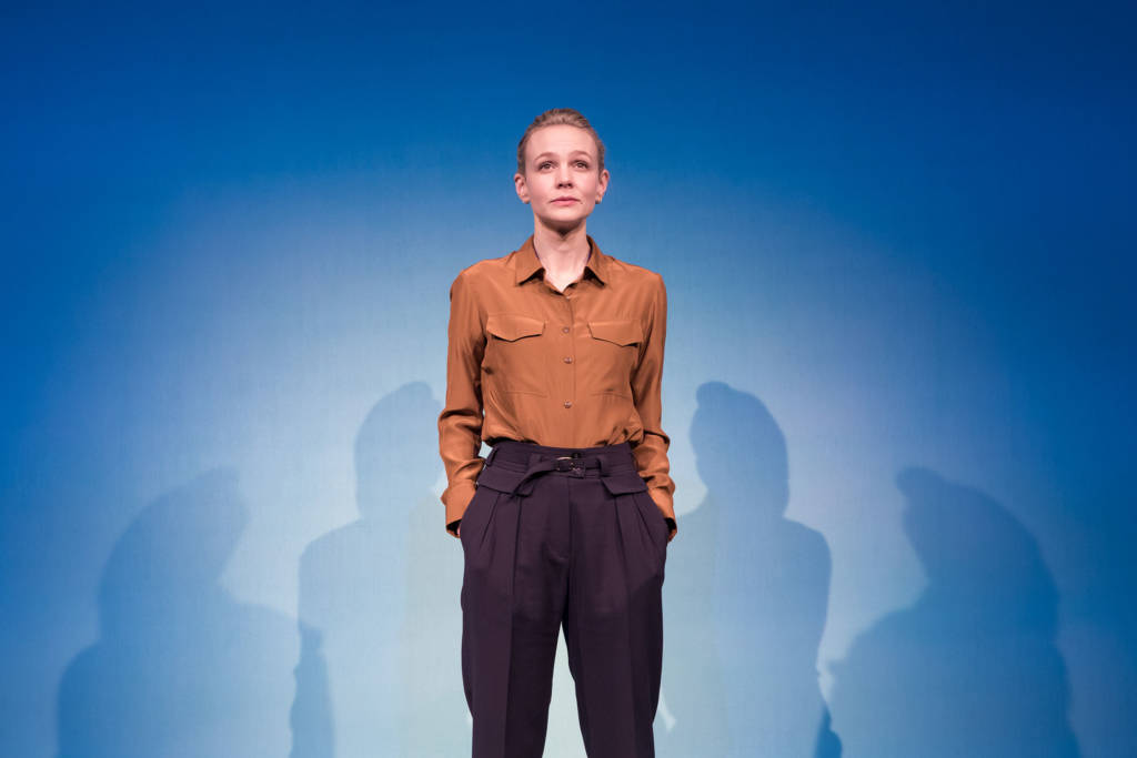 Carey Mulligan in Girls & Boys at Royal Court - review