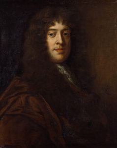 Portrait of William Wycherley by Sir Peter Lely