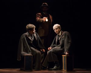 Sam Clemmett and Anthony Boyle in Harry Potter And The Cursed Child at Lyric Theatre New York