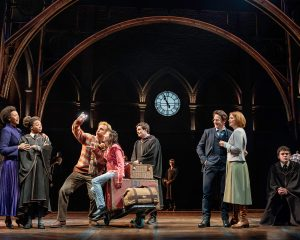 Cast of Harry Potter & The Cursed Child at Lyric Theatre New York