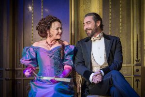 Photo of Frances Barber and Nathaniel Parker in An Ideal Husband
