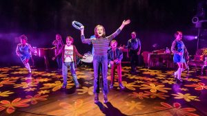 Production photo of Fun Home at Young Vic London