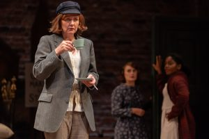 Clare Burt in RSC's Miss Littlewood, Photo by Topher McGrillis