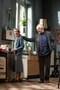Eileen Atkins and Jonathan Pryce in Production photo from The Height Of The Storm by Florian Zeller directed by Jonathan Kent at Wyndham's Theatre featuring Eileen Atkins and Jonathan Pryce