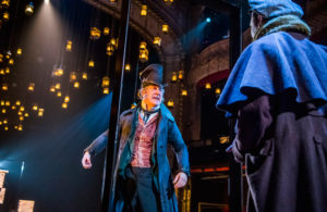 Stephen Tompkinson in A Christmas Carol at The Old Vic London