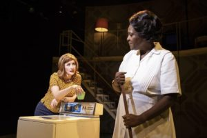 Production shot of Lauren Ward & Sharon D Clarke in Caroline, Or Change