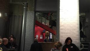 Photo of foyer of Donmar Warehouse in London