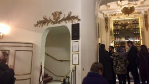 Foyer of The Playhouse theatre in London