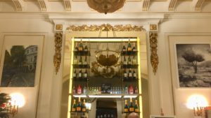 Photo of foyer bar in The Playhouse theatre in London