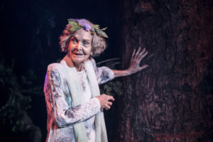 Production photo of Sheila Hancock in This Is My Family at Chichester Festival Theatre in May 2019