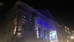 Photo of exterior of Noel Coward Theatre in London
