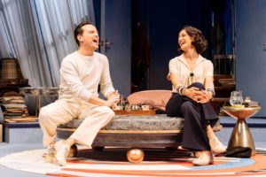 Andrew Scott & Indira Velma in Present Laughter at The Old Vic July 2019