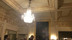 Photo of the foyer of the GarrickTheatre London