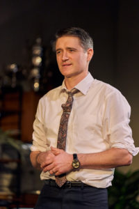 Porduction photo showing Tom Chambers in Dial M For Murder touring production
