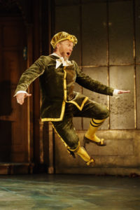 Production photo of Adrian edmonson in the RSC production of Twelfth Night