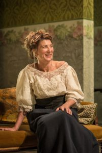 Production photo of Eve Best in Classic Spring Theatre's A Woman Of No Importance
