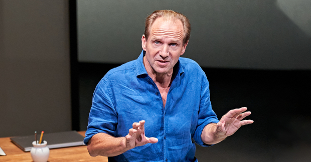 Ralph Fiennes in David Hare's Beat The Devil at the Bridge Theatre - review