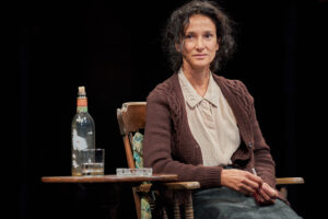 Photo of Indira Varma in Faith Healer at the Old Vic in London