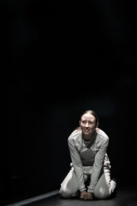 Production shot of erin Doherty in Crave at Chichester Festival Theatre