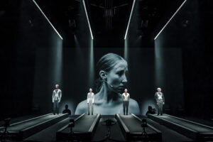 Production shot of Crave at Chichester Festival Theatre