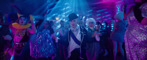 Still from film of Everybody's Talking ASbout Jamie showing Max Harwood